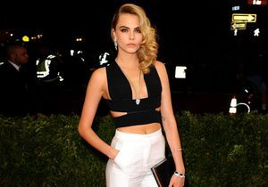 Met Ball : Cara détonne en pantalon Stella McCartney