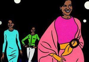 Michelle Obama défile sur les podiums !