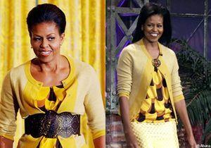 Michelle Obama : la même tenue à un an d'intervalle !