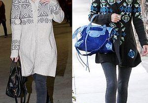 Nicky Hilton et Kate Bosworth ne quittent plus leur gilet norvégien
