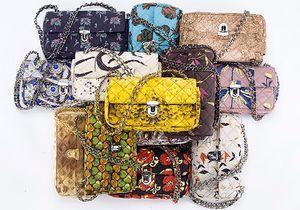 On craque pour les sacs Prada en tissus vintage !