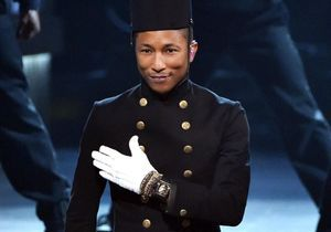Pharrell Williams aux Grammys : too much ou too smart