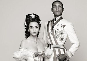 Pharrell Williams et Cara Delevingne s'embourgeoisent pour Chanel