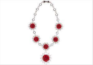 Prada lance une collection de bijoux floraux