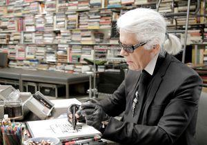 Quand Karl Lagerfeld se confie en dessin à Loïc Prigent