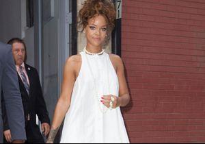 Rihanna fait une apparition à la Fashion Week de New York