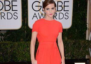 Robe devant, pantalon derrière : Emma Watson affole les Golden Globes