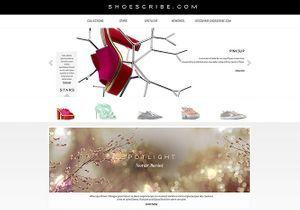Shoescribe.com : le nouveau temple de la chaussure