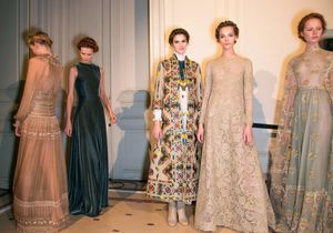 Suivez le défilé Valentino Haute Couture en direct de Rome