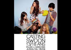 Swoon lance un casting pour trouver ses prochaines égéries