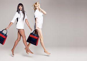Tommy Hilfiger réunit Naomi Campbell et Claudia Schiffer pour la lutte contre le cancer du sein