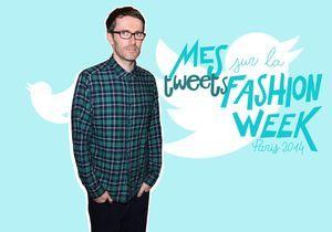 Twitter : la Fashion Week sans langue de bois de Loïc Prigent