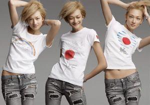 Un T-shirt de créateur dans ELLE pour soutenir le Japon