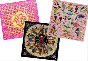 Une sélection exclusive de foulards HERMES sur Yoox.com