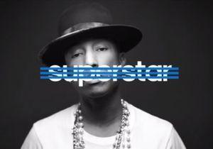 "Vidéo : Pharrell Williams, Rita Ora et David Beckham ""Superstar"" pour Adidas"