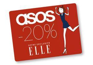 Bénéficiez de -20% sur ASOS !