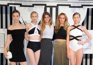 Bianca Brandolini et Alexia Niedzielski, la leçon de maillot de deux it girls
