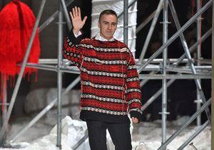 Calvin Klein : Raf Simons quitte la marque après seulement deux ans à la tête de la création
