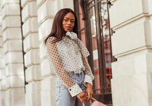 Cette blouse Zara est partout sur Instagram et elle est toujours disponible !