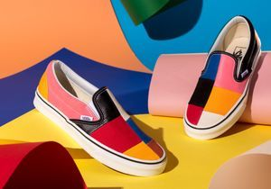 #ELLEfashioncrush : la collection Patchwork de Vans
