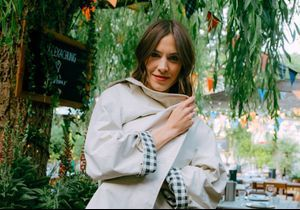 #ElleFashionCrush : Alexa Chung collabore avec Barbour pour une collection très british