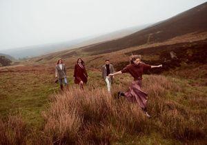 #ElleFashionCrush : la nouvelle campagne Mango nous fait voyager jusqu'en Écosse