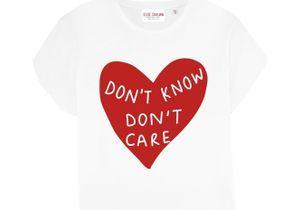 #ELLEfashioncrush : le tee-shirt good mood d'Elise Chalmin