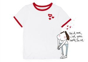 #ELLEFashioncrush : le tee-shirt Saint-Valentin de Vans