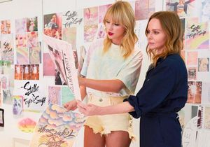 #ElleFashionCrush : Taylor Swift et Stella McCartney dévoilent une collection capsule éco-responsable
