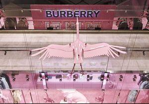 #ELLEFashionSpot : Burberry installe un corner hommage au règne animal aux Printemps Haussmann