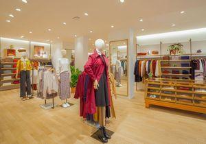 #ElleFashionSpot : Comptoir des Cotonniers dévoile sa nouvelle boutique parisienne