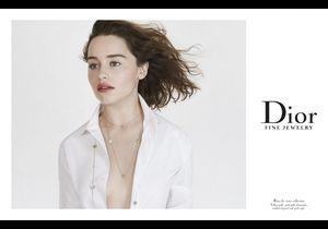 Emilia Clarke, nouvelle égérie Dior Joaillerie