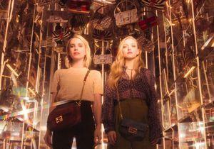 EXCLU #BaguetteFriendsForever : Emma Roberts et Amanda Seyfried, stars de la nouvelle vidéo Fendi