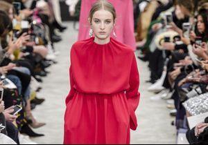 Fashion Week de Paris : le romantisme minimaliste de Valentino