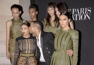 Fashion Week : Olivier Rousteing explique sa fascination pour Kim Kardashian