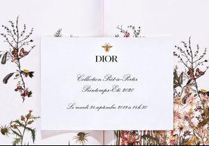 Fashion Week : suivez le défilé Dior en direct