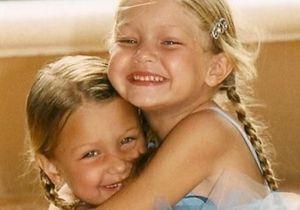 Gigi et Bella Hadid : ces photos d'enfance qui montrent qu'elles ont toujours aimé prendre la pose