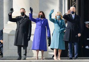 Investiture de Joe Biden : le message politique passé à travers la tenue de Kamala Harris