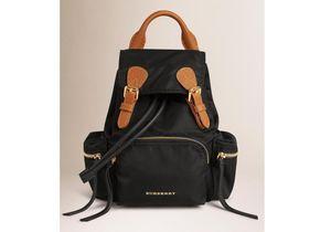 It pièce : le Rucksack de Burberry, le sac à dos préféré des mannequins