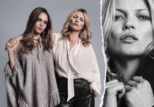 Kate Moss et Cara Delevingne : toutes les photos de leur campagne pour Mango