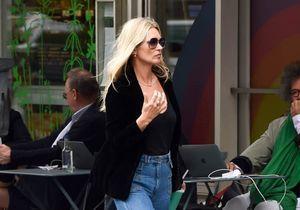 Kate Moss ne quitte plus ce jean Gérard Darel