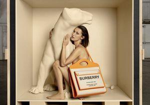 L'instant mode : Bella Hadid présente le nouvel it-bag de la maison Burberry