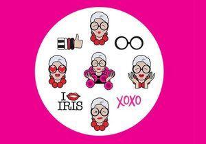L'instant mode : Iris Apfel lance ses emojis
