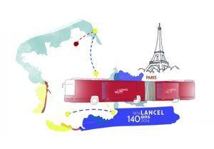 L'instant mode : Lancel fête ses 140 ans avec une exposition itinérante