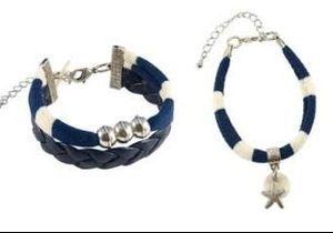 L'instant mode : le bracelet marinière de Sandrine de Courcy