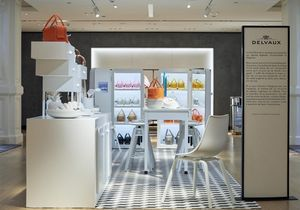 L'instant mode : les sacs Delvaux s'offrent un pop-up « Cool Box Kitchen » au Bon Marché