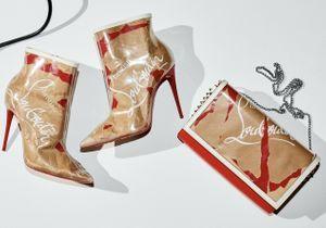 L'instant mode : Louboutin et ses chaussures en papier kraft
