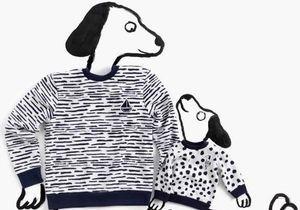 L'Instant Mode : Petit Bateau x Jean Jullien, la collection capsule pour toute la famille