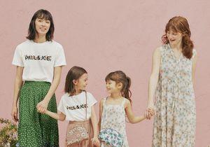 L'instant mode : Uniqlo et Paul & Joe imaginent une collection mère-fille à petit prix