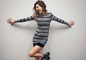Laury Thilleman nous montre comment porter la robe à paillettes avec style